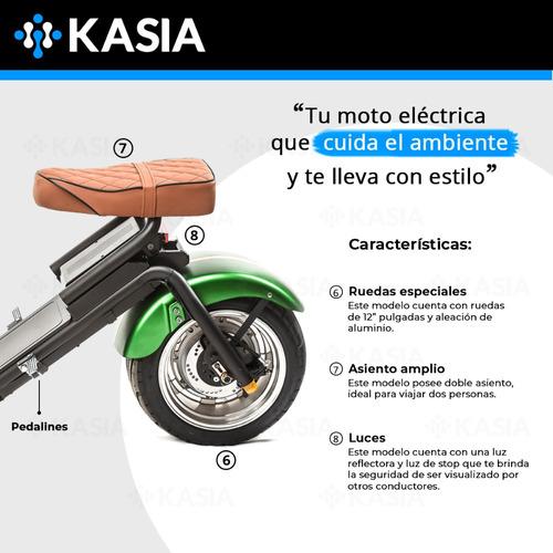moto electrica kasia city coco tempus clasica ahora18