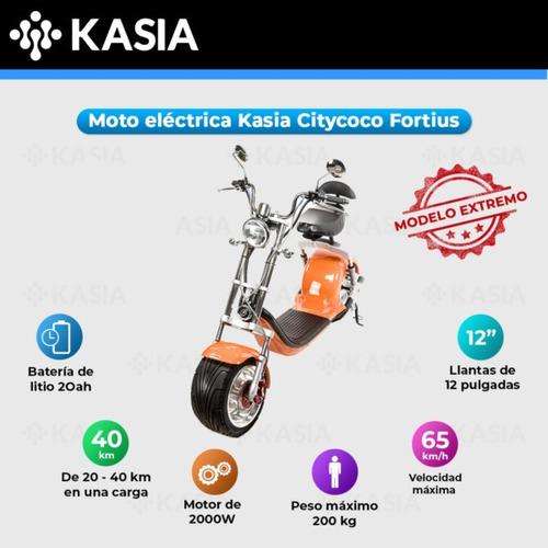 moto electrica kasia citycoco fortius version original