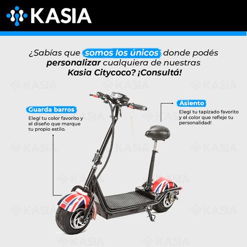moto electrica kasia citycoco rieti mini 800w 20ah scooter