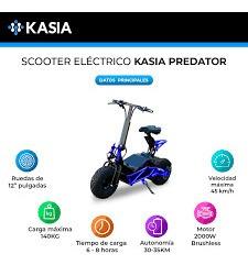 moto electrica kasia predator entrega inmediata