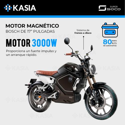 moto electrica kasia supersoco tc bateria panasonic