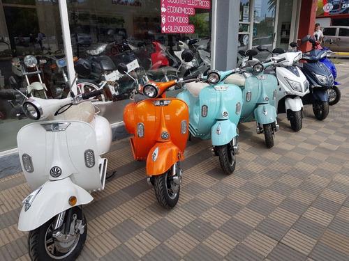 moto eléctrica king - todo ruedas vm -