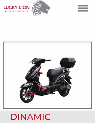 moto electrica lucky lion dinamic zarate tel 3487346275
