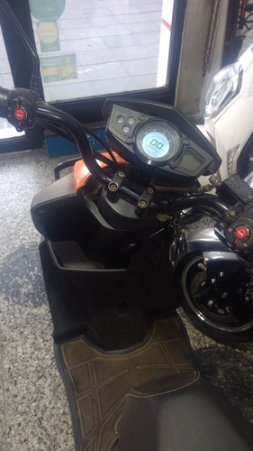 moto electrica lucky lion mod. bull 60v baterias nuevas 20ah