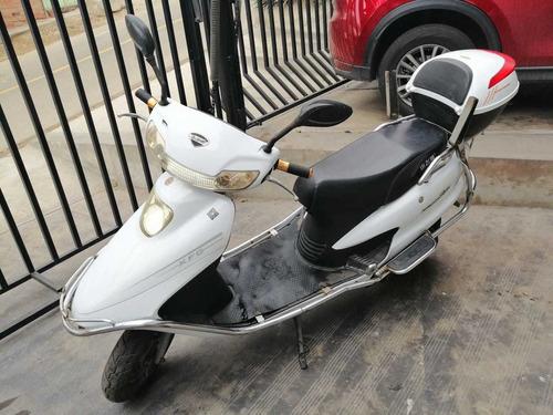 moto eléctrica marca wanxing 2017