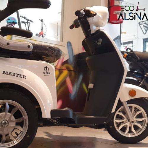 moto eléctrica master sin licencia/registro - hot sale