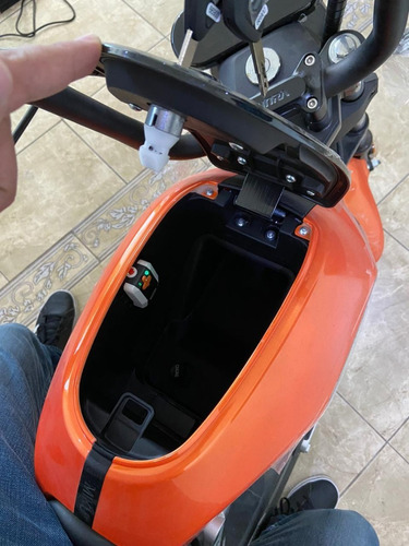 moto electrica miku max sunra motor bosch - naranja