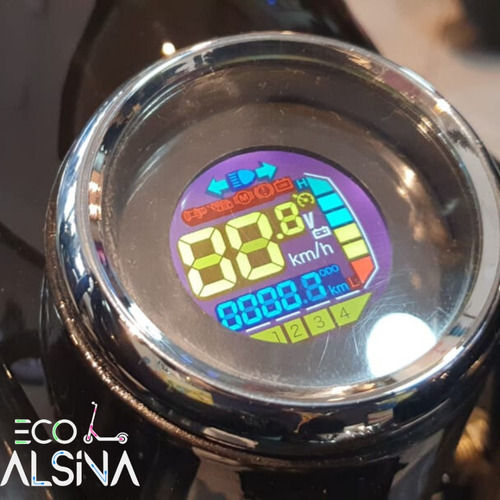 moto eléctrica modelo volt 1  autonomía 50km  no sunra