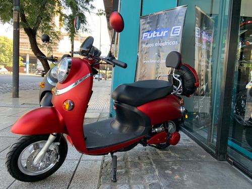 moto electrica modena future rojo 1200w scooter  ap motos