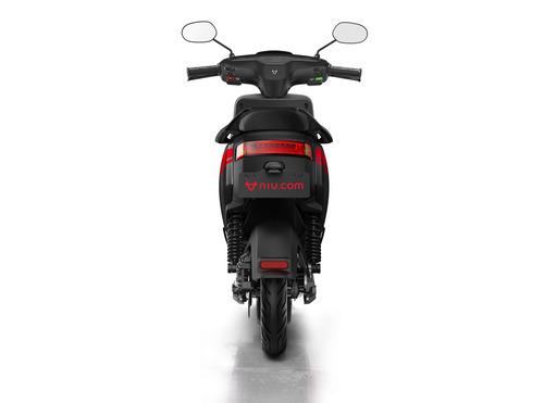 moto eléctrica niu m+ - negro