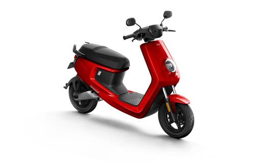moto eléctrica niu m+ - roja