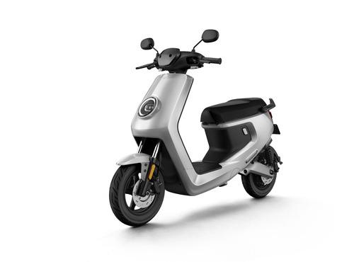moto eléctrica niu mqi+ sport - silver