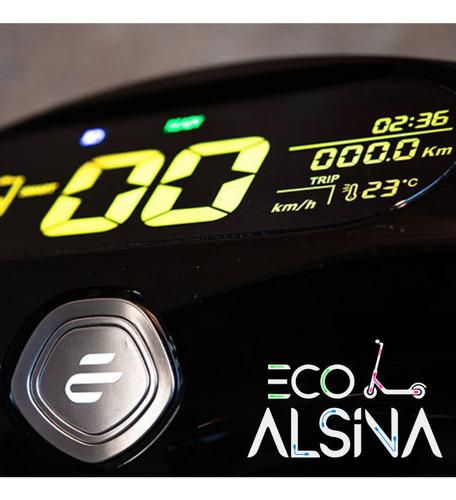 moto eléctrica / no sunra grace - alarma usb reversa