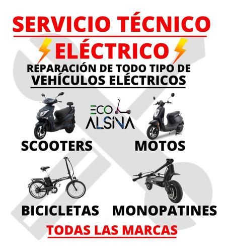 moto eléctrica no sunra hawk bateria litio /servicio técnico