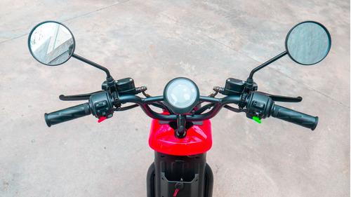 moto eléctrica nuuv u pro roja - no super socco scooter