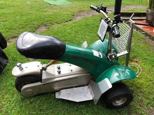 moto eléctrica para golf motronik