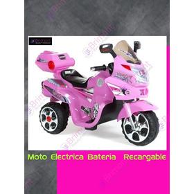 Moto Electrica Para Niños Brimont1