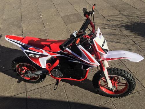 moto electrica p/niños sunra a bateria 500w mini moto