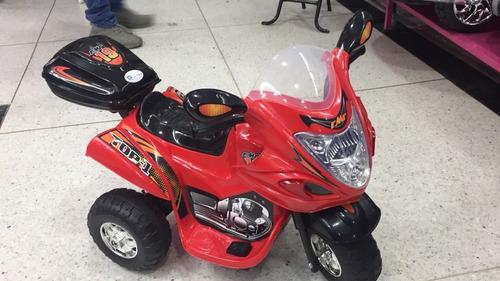 moto electrica recargable musica montable niños y niñas