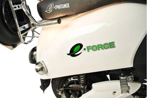 moto electrica scooter 0km blanca autonomía 45km vel. 50k/h