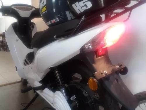 moto electrica scooter + cascos oferta! poco uso!