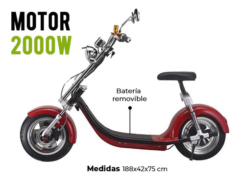 moto electrica scooter city coco kasia premium