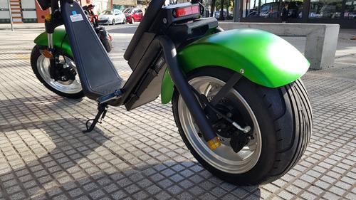 moto eléctrica scooter citycoco tempus motor 2000w agrobikes