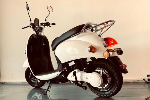 moto eléctrica scooter - financia 100% en $ gaia motors
