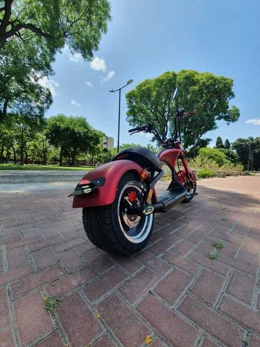 moto electrica scooter harley chopper - eco alsina