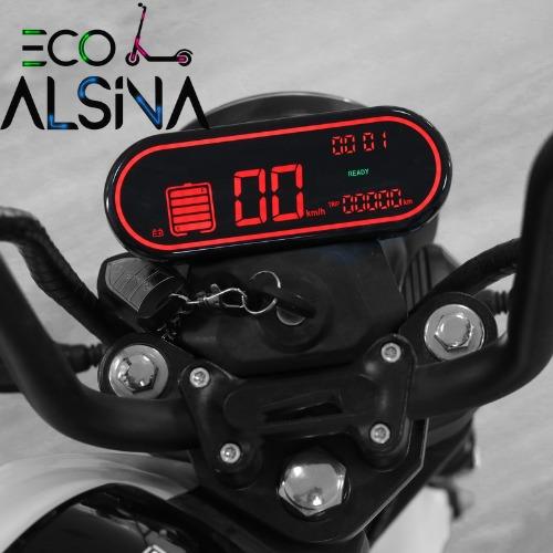 moto eléctrica scooter miku motor bosch