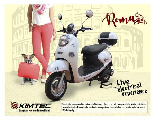 moto electrica scooter motoneta electric motocycle mod. roma