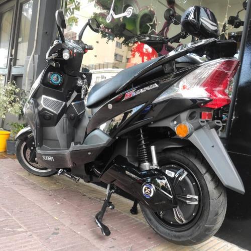 moto eléctrica scooter sunra hawk batería litio - ecoalsina