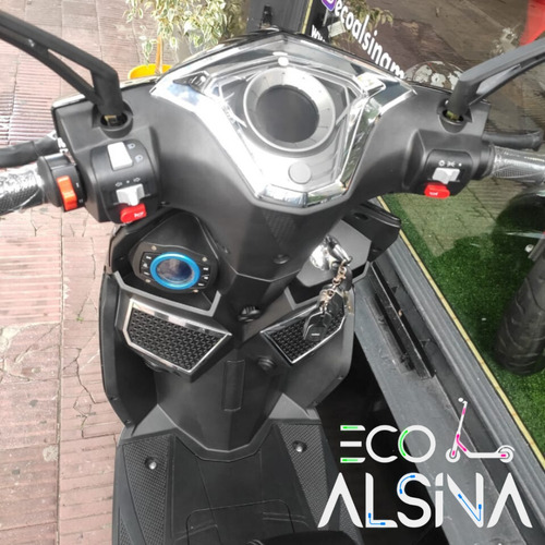 moto eléctrica scooter sunra litio 60 km autonomia