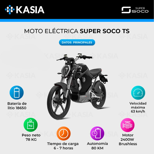 moto electrica scooter supersoco ts bosch motor eec