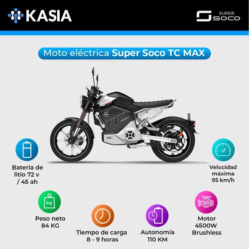 moto electrica scooter xiaomi super soco tc max
