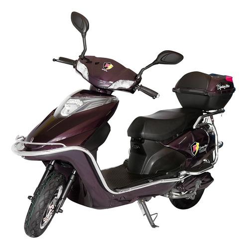 moto eléctrica, silenciosa y ecológica modelo viridi