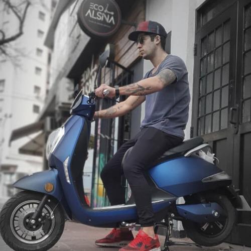 moto eléctrica sunra grace / bateria ácido gel