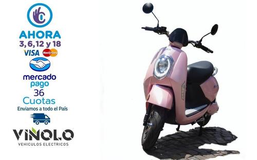 moto electrica sunra grace litio plan gob 16% - viñolo  /g