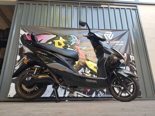 moto electrica sunra hawk 3000w litio viaja seguro al 19/11