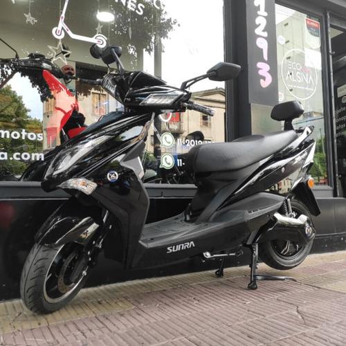 moto eléctrica sunra hawk 3000wbateria extraible litio