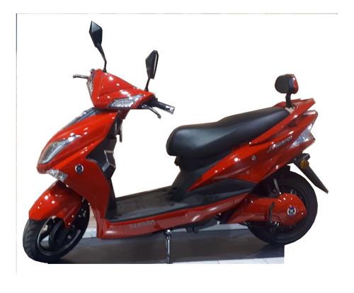 moto eléctrica sunra hawk - batería de ácido