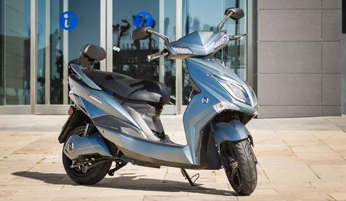 moto eléctrica sunra hawk / bateria de litio usb alarma