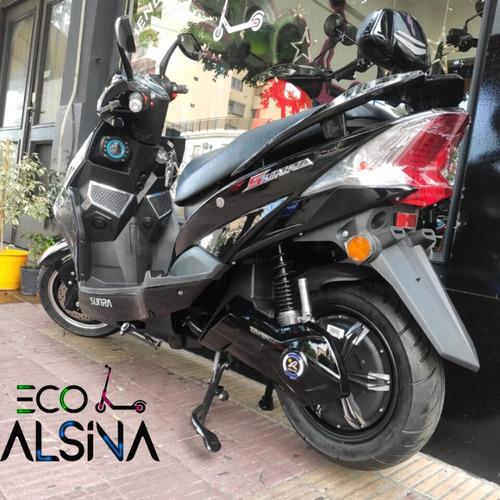 moto eléctrica sunra hawk + bluetooth alarma bateria litio