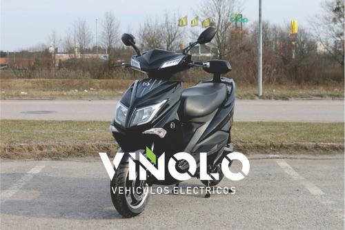 moto eléctrica sunra hawk de litio - viñolo vehículos/g