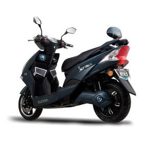 Moto Eléctrica Sunra Hawk Litio 120km De Autonomía