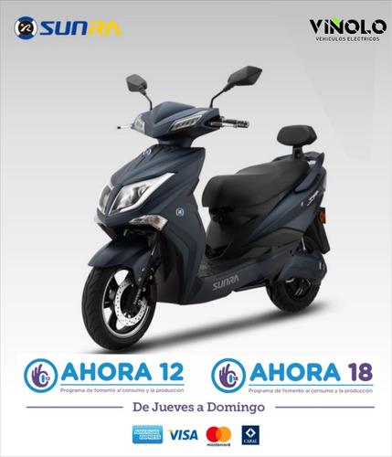 moto eléctrica sunra hawk viñolo vehículos eléctricos /a