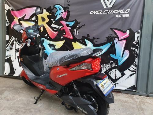 moto electrica sunra leo 2000w gel 0km cycle world motors
