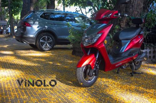 moto electrica sunra leo litio - viñolo vehículos eléctric/e