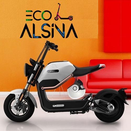 moto eléctrica sunra miku max - eco alsina 800w