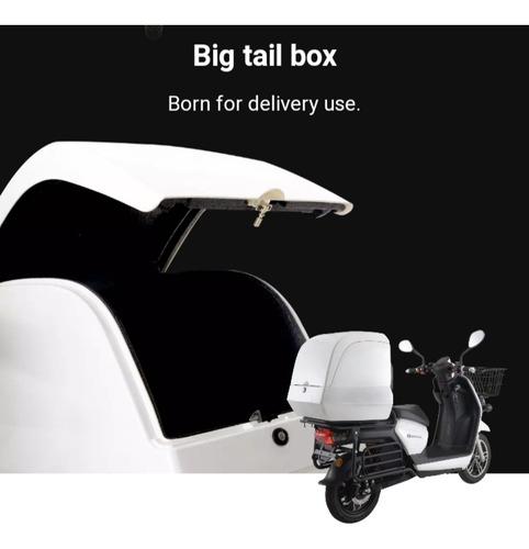 moto eléctrica sunra para delivery - plan gob 16% viñolo  /e